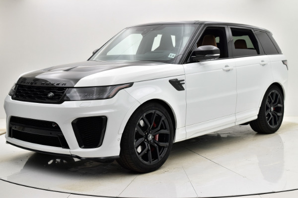 Used 2020 Land Rover Range Rover Sport SVR for sale $129,880 at F.C. Kerbeck Aston Martin in Palmyra NJ 08065 2