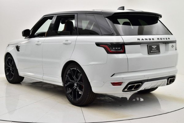 Used 2020 Land Rover Range Rover Sport SVR for sale $129,880 at F.C. Kerbeck Aston Martin in Palmyra NJ 08065 4