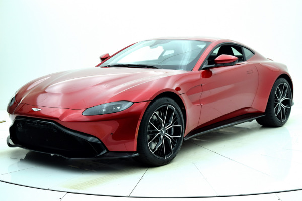 New 2021 Aston Martin Vantage Coupe for sale $168,786 at F.C. Kerbeck Aston Martin in Palmyra NJ 08065 2