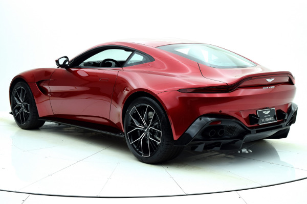 New 2021 Aston Martin Vantage Coupe for sale $168,786 at F.C. Kerbeck Aston Martin in Palmyra NJ 08065 4