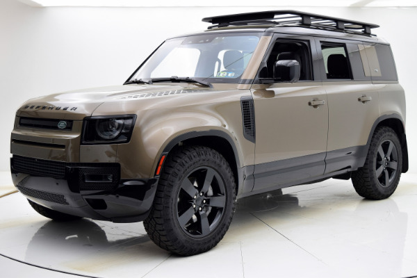 Used 2020 Land Rover Defender First Edition for sale Sold at F.C. Kerbeck Aston Martin in Palmyra NJ 08065 2