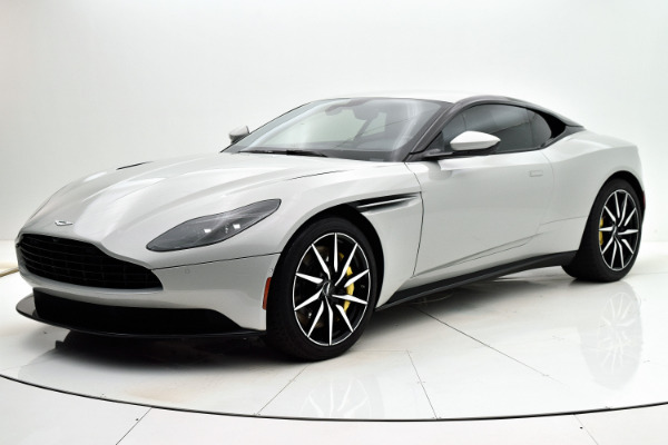 Used 2018 Aston Martin DB11 V8 Coupe for sale $165,880 at F.C. Kerbeck Aston Martin in Palmyra NJ 08065 2