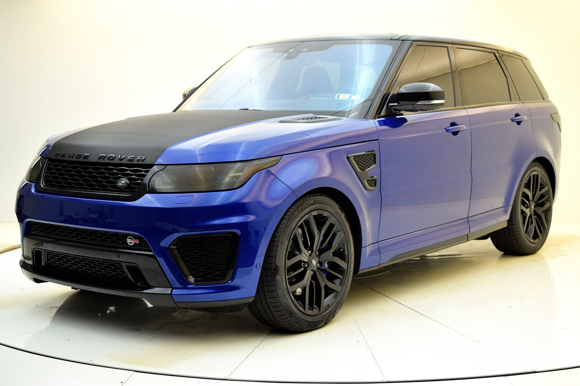 Used 2017 Land Rover Range Rover Sport SVR for sale $79,880 at F.C. Kerbeck Aston Martin in Palmyra NJ 08065 2