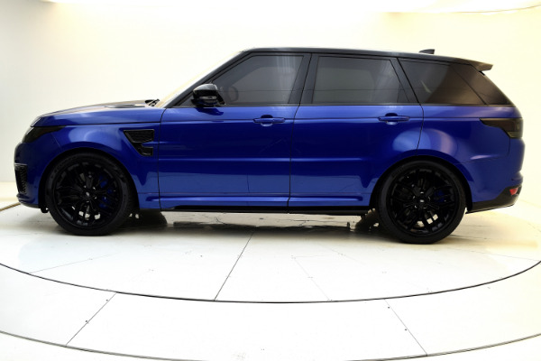 Used 2017 Land Rover Range Rover Sport SVR for sale $79,880 at F.C. Kerbeck Aston Martin in Palmyra NJ 08065 3