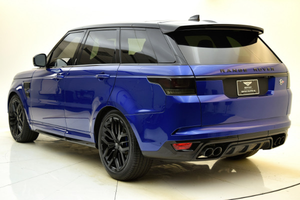 Used 2017 Land Rover Range Rover Sport SVR for sale $79,880 at F.C. Kerbeck Aston Martin in Palmyra NJ 08065 4