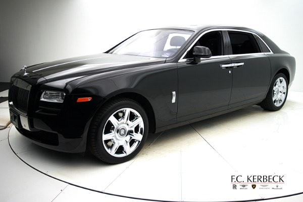 Used Used 2012 Rolls-Royce Ghost EWB for sale $149,880 at F.C. Kerbeck Aston Martin in Palmyra NJ