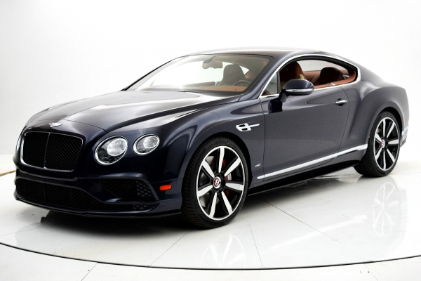 Used 2016 Bentley Continental GT V8 S Coupe for sale Sold at F.C. Kerbeck Aston Martin in Palmyra NJ 08065 2