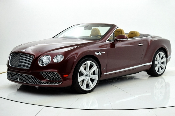 Used Used 2016 Bentley Continental GT W12 Convertible for sale <s>$275,305</s> | $149,880 at F.C. Kerbeck Aston Martin in Palmyra NJ