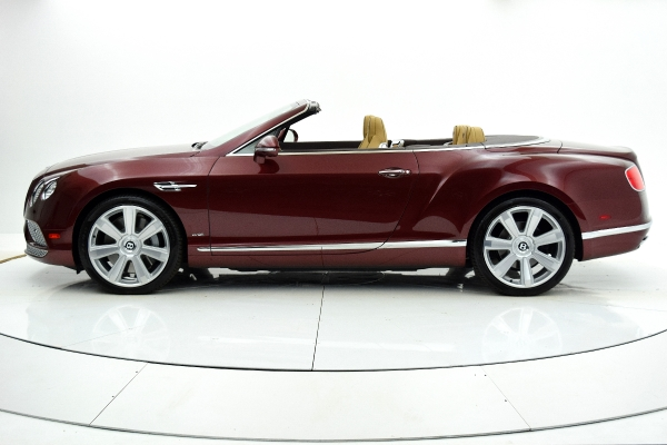 Used 2016 Bentley Continental GT W12 Convertible for sale $139,880 at F.C. Kerbeck Aston Martin in Palmyra NJ 08065 3