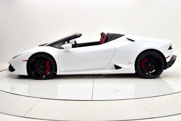 Used 2016 Lamborghini Huracan LP 610-4 Spyder for sale Sold at F.C. Kerbeck Aston Martin in Palmyra NJ 08065 3