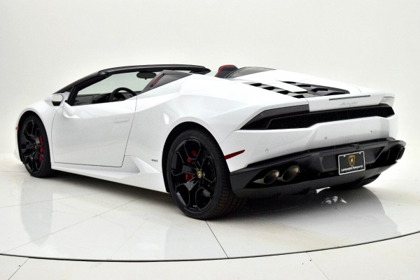 Used 2016 Lamborghini Huracan LP 610-4 Spyder for sale Sold at F.C. Kerbeck Aston Martin in Palmyra NJ 08065 4