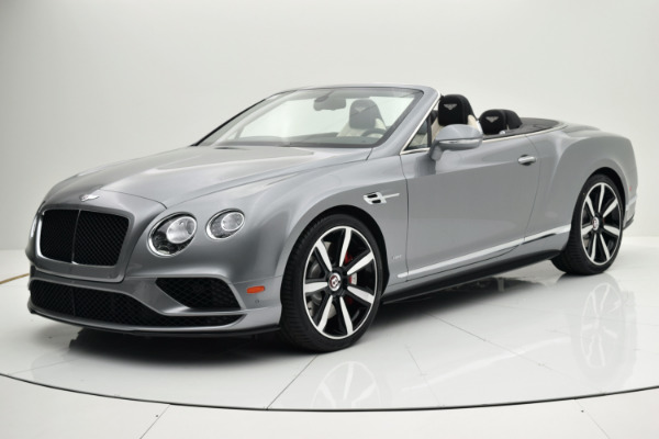 Used Used 2016 Bentley Continental GT V8 S Convertible for sale $164,880 at F.C. Kerbeck Aston Martin in Palmyra NJ