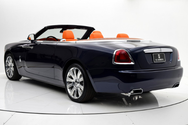 Used 2016 Rolls-Royce Dawn for sale Sold at F.C. Kerbeck Aston Martin in Palmyra NJ 08065 4