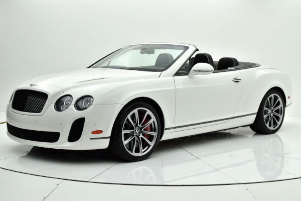 Used 2012 Bentley Continental Supersports Supersports for sale Sold at F.C. Kerbeck Aston Martin in Palmyra NJ 08065 2