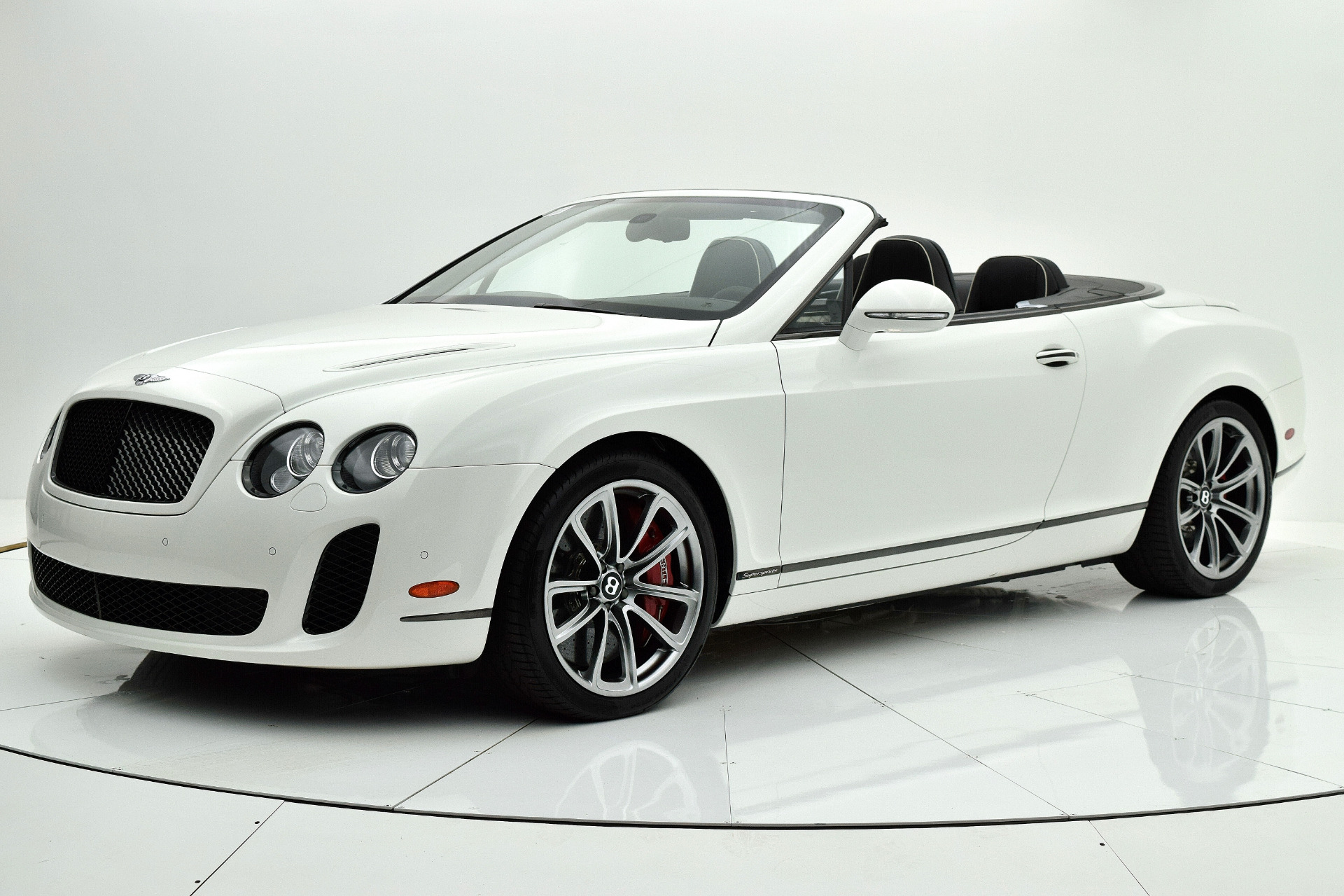 Used 2012 Bentley Continental Supersports Convertible for sale $107,880 at F.C. Kerbeck Aston Martin in Palmyra NJ 08065 2