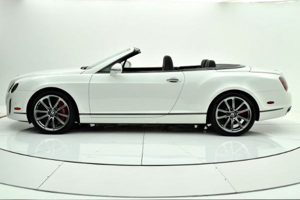 Used 2012 Bentley Continental Supersports Convertible for sale $107,880 at F.C. Kerbeck Aston Martin in Palmyra NJ 08065 3