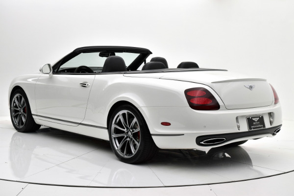 Used 2012 Bentley Continental Supersports Convertible for sale $107,880 at F.C. Kerbeck Aston Martin in Palmyra NJ 08065 4