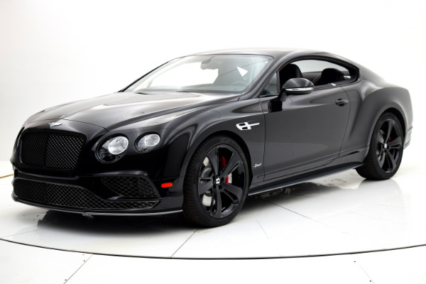 Used 2017 Bentley Continental GT Speed Coupe for sale Sold at F.C. Kerbeck Aston Martin in Palmyra NJ 08065 2