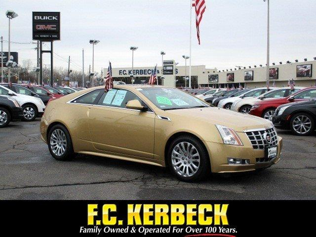 Cadillac Cts Coupe For Sale >> Used 2013 Cadillac Cts Coupe Performance Rwd For Sale