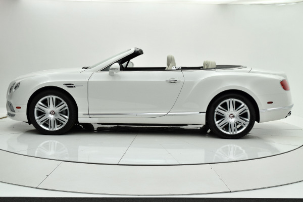 Used 2017 Bentley Continental GT V8 Convertible for sale Sold at F.C. Kerbeck Aston Martin in Palmyra NJ 08065 3