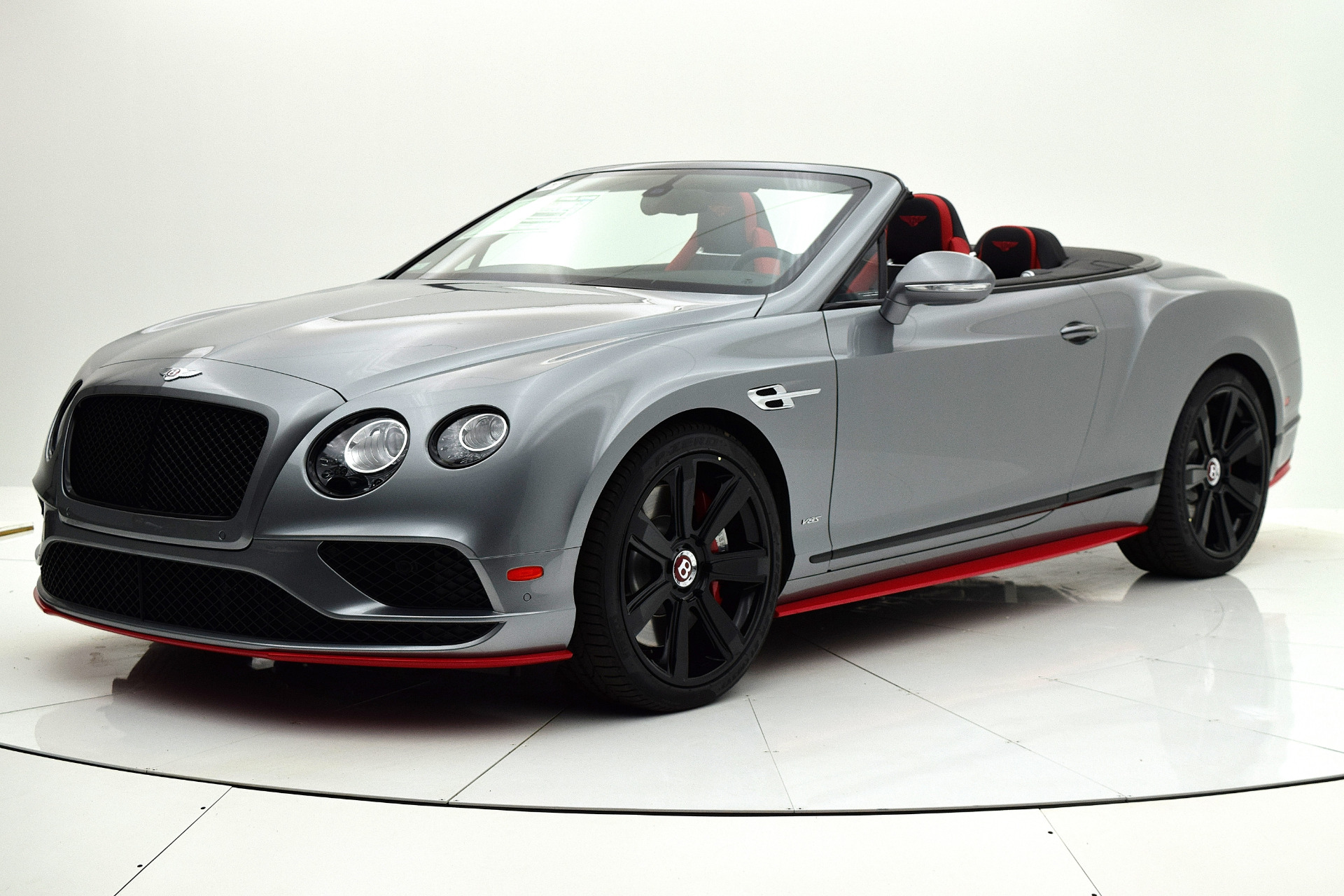 Used 2017 Bentley Continental GT V8 S Convertible Black Edition for sale Sold at F.C. Kerbeck Aston Martin in Palmyra NJ 08065 2
