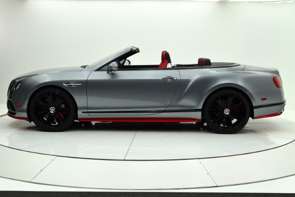 Used 2017 Bentley Continental GT V8 S Convertible Black Edition for sale Sold at F.C. Kerbeck Aston Martin in Palmyra NJ 08065 3