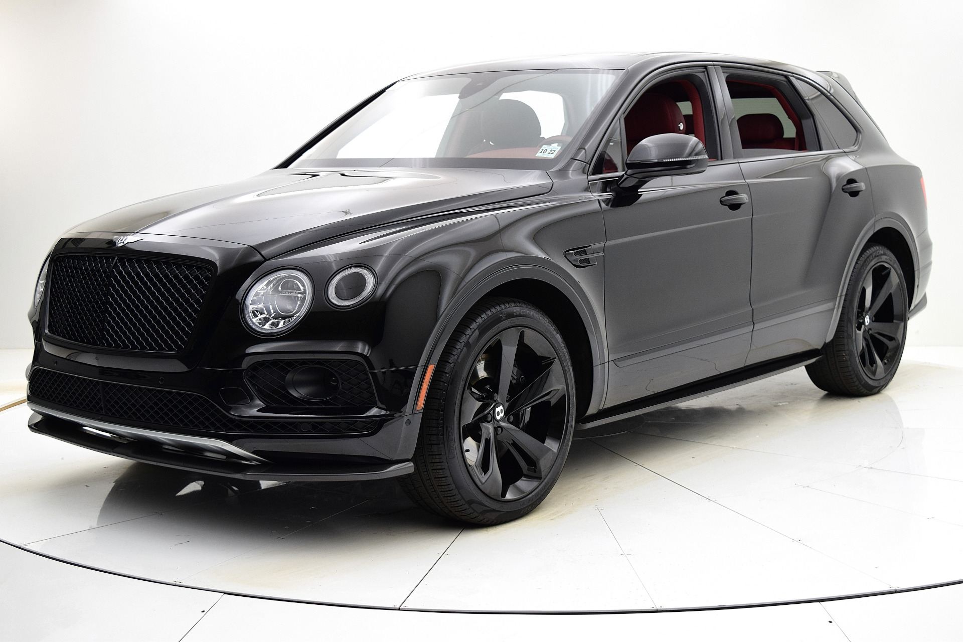 Used 2018 Bentley Bentayga Black Edition for sale Sold at F.C. Kerbeck Aston Martin in Palmyra NJ 08065 2