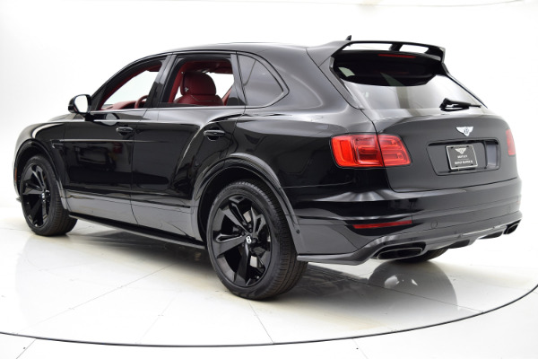Used 2018 Bentley Bentayga Black Edition for sale Sold at F.C. Kerbeck Aston Martin in Palmyra NJ 08065 4