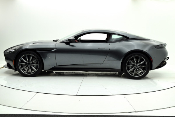 New 2018 Aston Martin DB11 V12 Coupe for sale $266,579 at F.C. Kerbeck Aston Martin in Palmyra NJ 08065 3