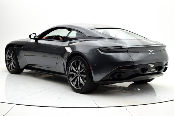 New 2018 Aston Martin DB11 V12 Coupe for sale $266,579 at F.C. Kerbeck Aston Martin in Palmyra NJ 08065 4
