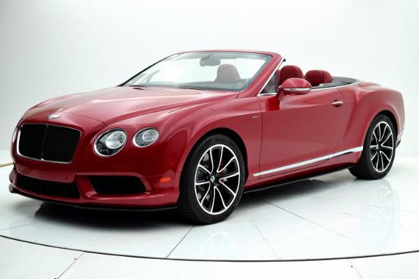 Used Used 2014 Bentley Continental GT V8 S Convertible for sale $127,880 at F.C. Kerbeck Aston Martin in Palmyra NJ