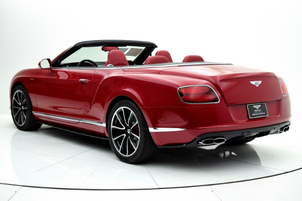 Used 2014 Bentley Continental GT V8 S Convertible for sale Sold at F.C. Kerbeck Aston Martin in Palmyra NJ 08065 4
