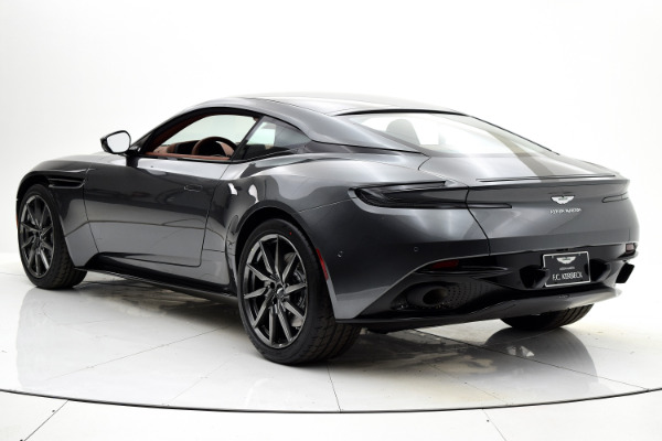 New 2018 Aston Martin DB11 V12 for sale $253,689 at F.C. Kerbeck Aston Martin in Palmyra NJ 08065 4