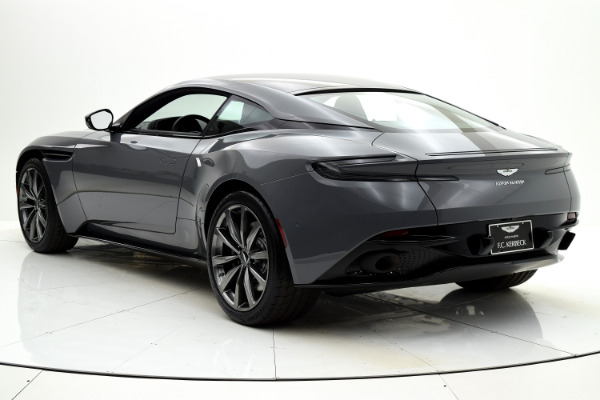 New 2018 Aston Martin DB11 V8 Coupe for sale $231,534 at F.C. Kerbeck Aston Martin in Palmyra NJ 08065 4