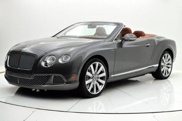 Used 2014 Bentley Continental GT W12 Convertible for sale Sold at F.C. Kerbeck Aston Martin in Palmyra NJ 08065 2