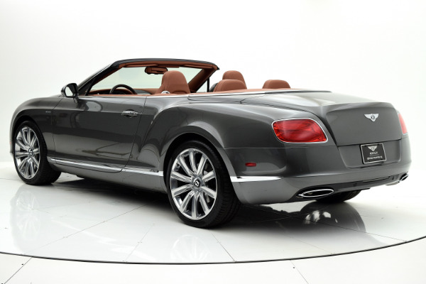 Used 2014 Bentley Continental GT W12 Convertible for sale Sold at F.C. Kerbeck Aston Martin in Palmyra NJ 08065 4