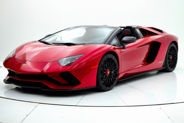 New New 2018 Lamborghini Aventador S Roadster for sale $525,772 at F.C. Kerbeck Aston Martin in Palmyra NJ