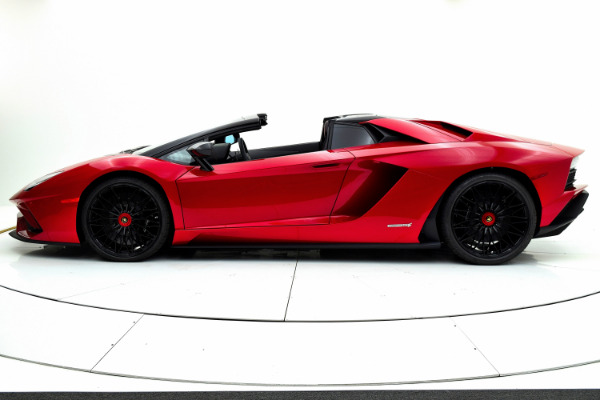 New 2018 Lamborghini Aventador S Roadster for sale $525,772 at F.C. Kerbeck Aston Martin in Palmyra NJ 08065 3