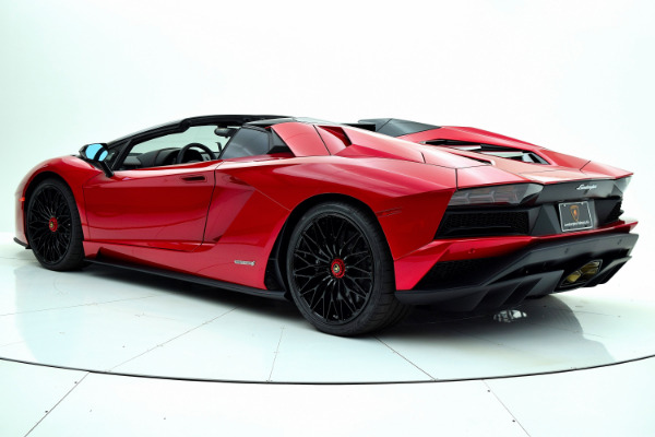New 2018 Lamborghini Aventador S Roadster for sale $525,772 at F.C. Kerbeck Aston Martin in Palmyra NJ 08065 4