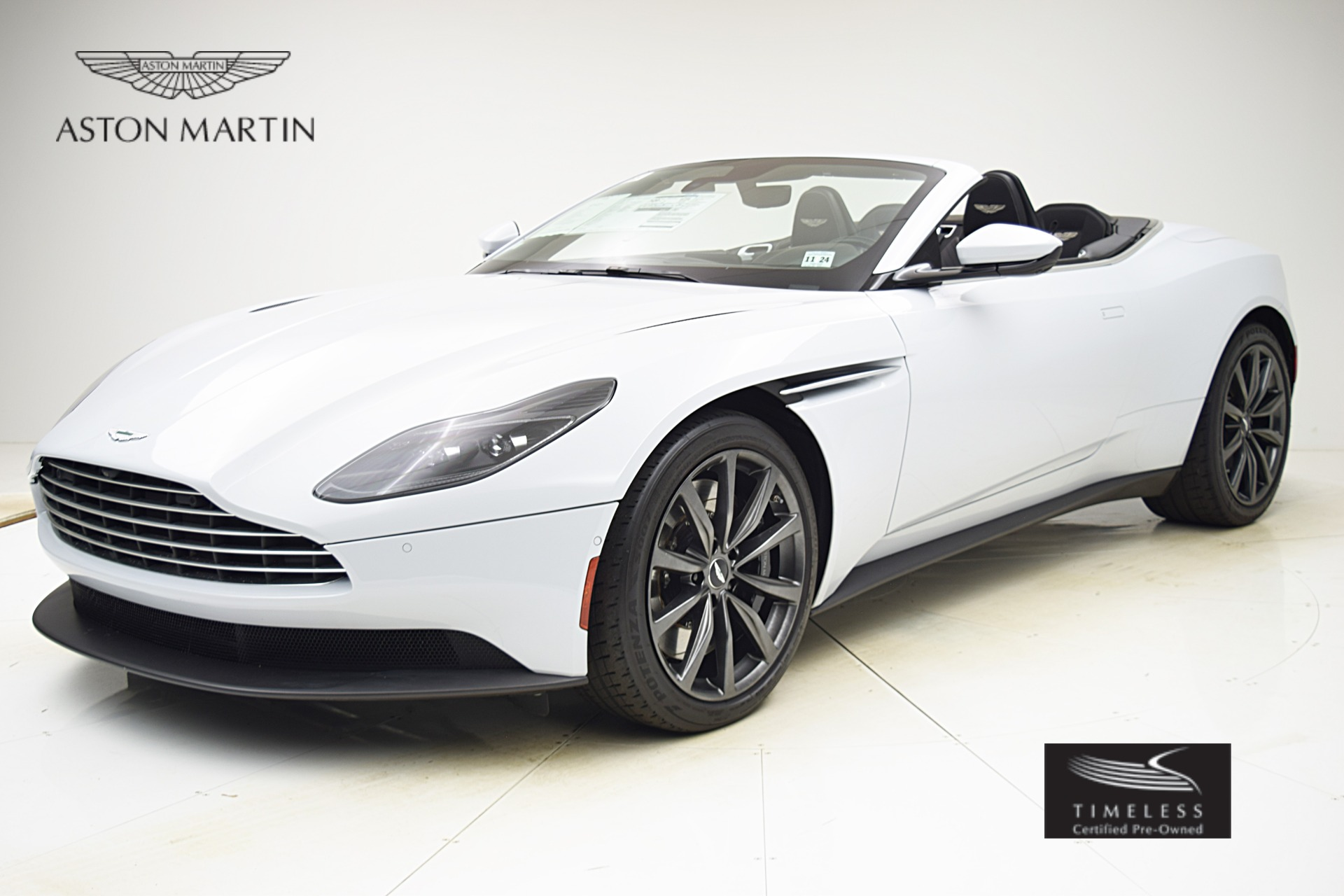 New 2019 Aston Martin DB11 Volante for sale $244,718 at F.C. Kerbeck Aston Martin in Palmyra NJ 08065 2