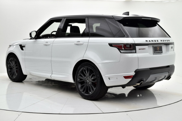 Used 2017 Land Rover Range Rover Sport HSE Dynamic for sale Sold at F.C. Kerbeck Aston Martin in Palmyra NJ 08065 4