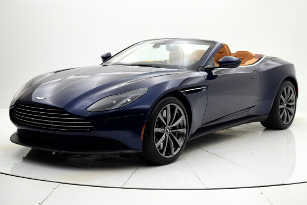 New New 2019 Aston Martin DB11 Volante for sale $240,874 at F.C. Kerbeck Aston Martin in Palmyra NJ