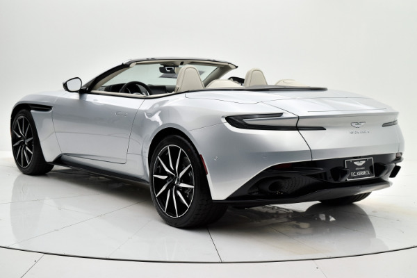 New 2019 Aston Martin DB11 Volante for sale $245,318 at F.C. Kerbeck Aston Martin in Palmyra NJ 08065 4