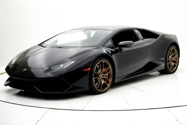 Used 2015 Lamborghini Huracan LP610-4 Coupe for sale $179,880 at F.C. Kerbeck Aston Martin in Palmyra NJ 08065 2