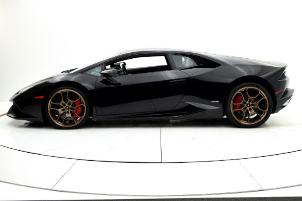 Used 2015 Lamborghini Huracan LP610-4 Coupe for sale $179,880 at F.C. Kerbeck Aston Martin in Palmyra NJ 08065 3