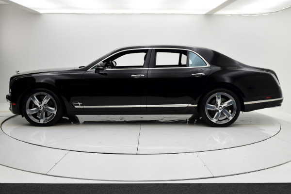 Used 2016 Bentley Mulsanne Speed for sale $184,880 at F.C. Kerbeck Aston Martin in Palmyra NJ 08065 3